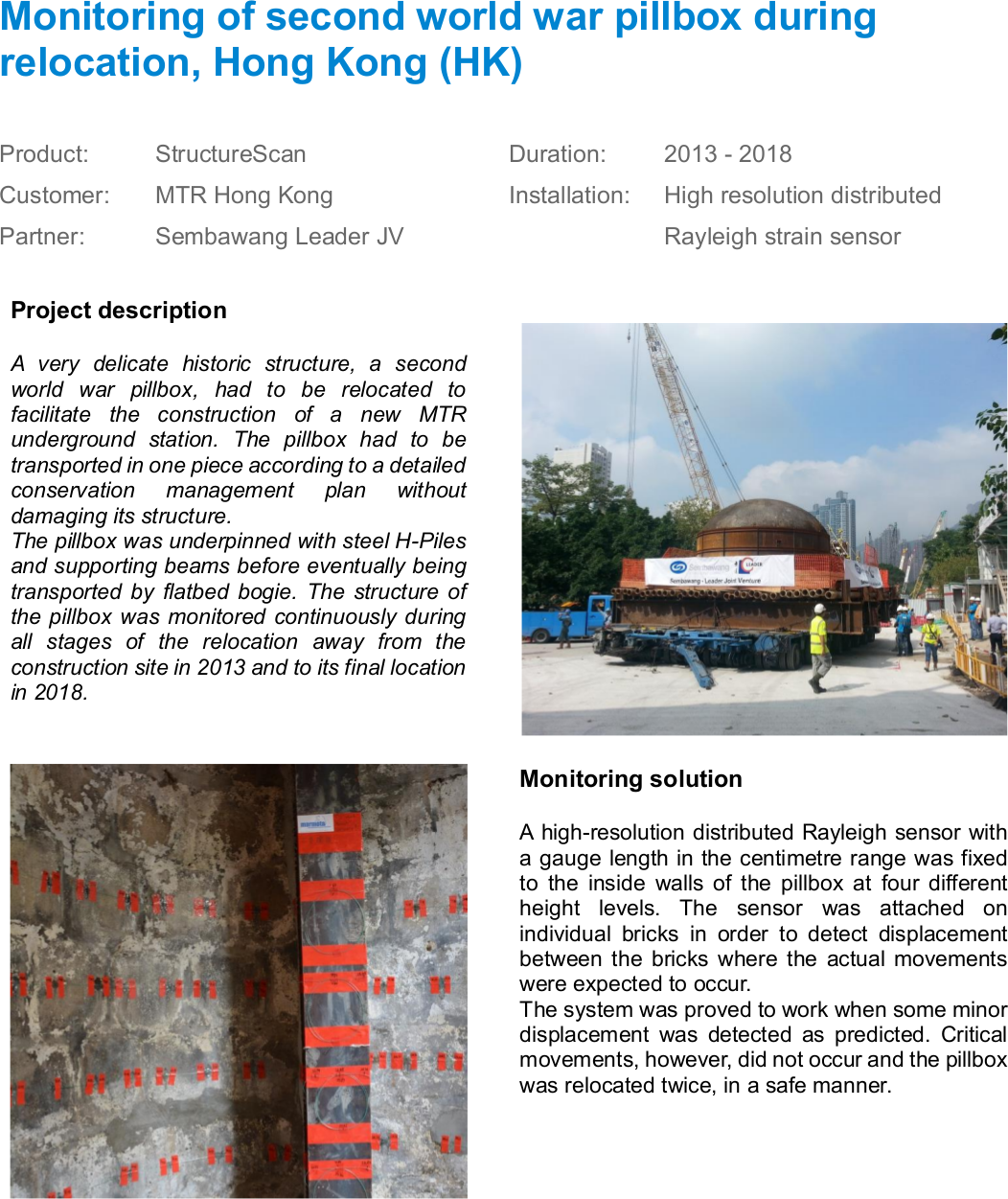 Marmota Engineering AG :: Project References